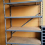 Used Heavy Duty Industrial Shelf Unit