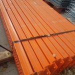 Heavy duty 8' beams - 5,200 lbs capacity