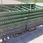"Used Uprights 42"" x 96"" teardrop style"